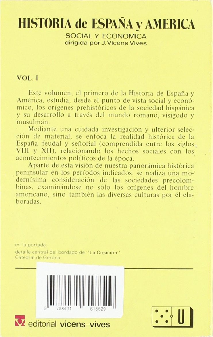 1. Historia de Espa–a y AmŽrica (Vicens Bolsillo): Amazon.es: Pericot, Lluis: Libros
