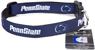 product image for All Star Dogs Penn State Nittany Lions Ribbon Dog Collar - Small