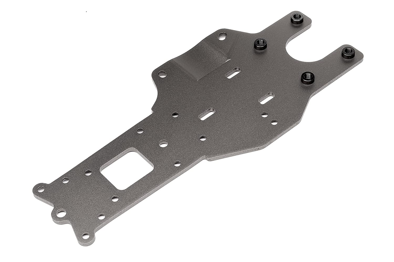 Chassisplatte hinten (gunmetal/Baja 5B   2.0)