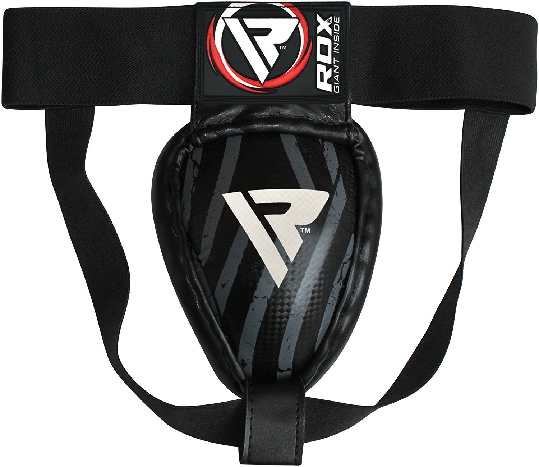 RDX MMA Boxeo coquilla protector copa boxeo Abdo Muay Thai acero hierro UFC