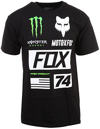 Amazon.com  Fox Racing Mens Monster Union Short-Sleeve Shirt  Clothing 1612b00d37c3