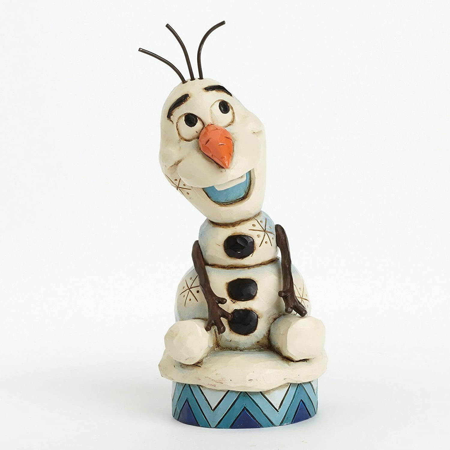 Jim Shore Disney Traditions Olaf from Frozen Figurine, 5.1