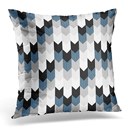 Amazon Emvency Throw Pillow Cover Modern Funky Arrow Chevron Unique Funky Decorative Pillows