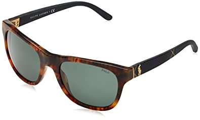 Polo Ralph Lauren PH4091 Sonnenbrille Jerry Havanna 550371 55mm DmchI2i5