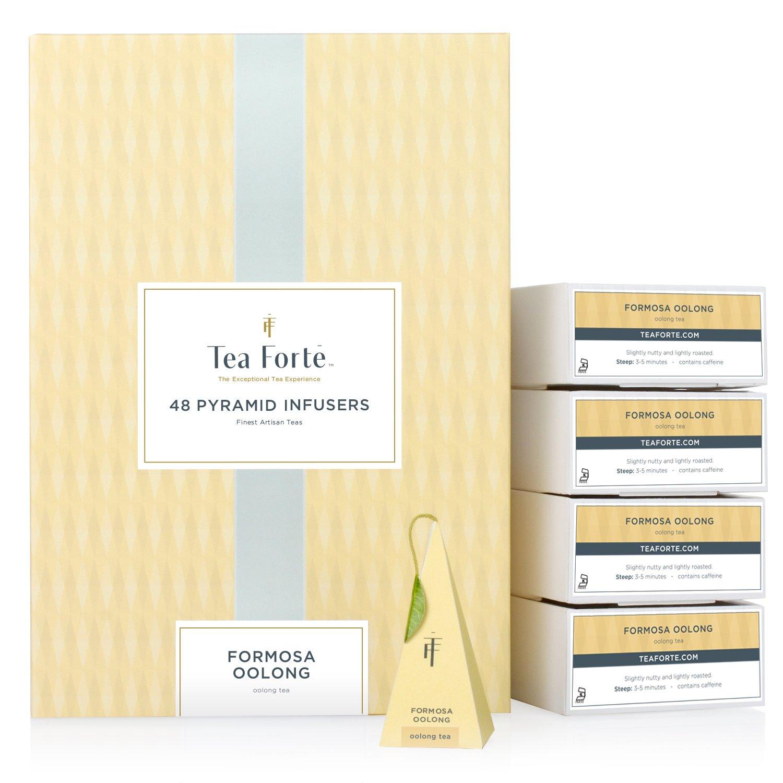 Tea Forté BULK PACK Formosa Oolong Tea, 48 Handcrafted Pyramid Tea Infusers by Tea Forte (Image #1)