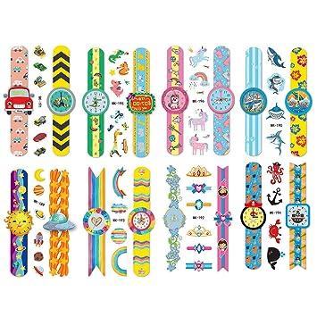 Phogary Tatuajes temporales para niños, 16 hojas de tatuajes de ...
