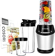 COSORI Upgraded Personal Blender, 10-Piece Smoothie, Shakes Blender with 800W Auto-Blend Base- Ice Fruits Nutrients Extractio