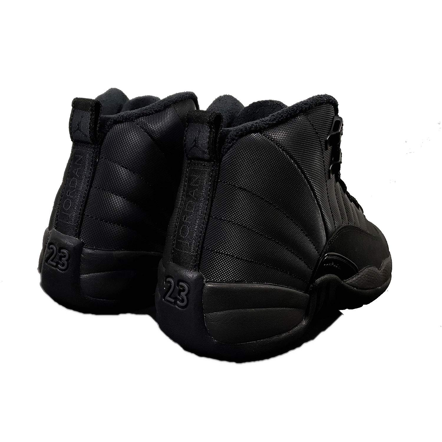 brand new 23211 9e91b BQ6852-001 Nike Air Jordan 12 Retro WNTR GS Kids Casual Shoes Winterized  Black BQ6852-001 5Y