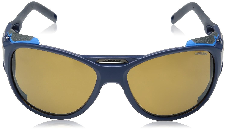 5963e18160 Julbo Explorer 2.0 - Gafas de Sol para Hombre, Hombre, Explorer 2.0, Bleu  Foncé Mat/Bleu Cyan: Amazon.es: Deportes y aire libre