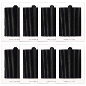 8 Pack Refrigerator Air Filters Replacement, replaces for SCPUREAIR2PK,EAFCBF PAULTRA 242047801, 242047804