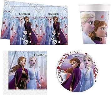 Frozen 2 Disney Party Pack para 8 Invitados: Amazon.es: Juguetes ...
