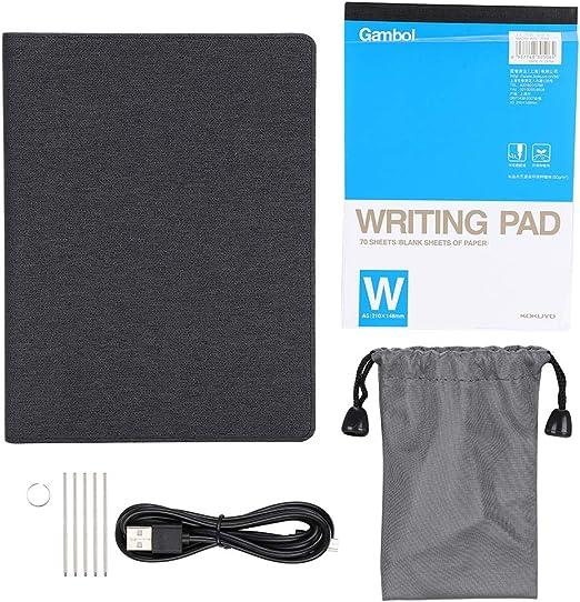 リアルタイムコンテンツプロジェクションスマートライティングボードポータブルデジタルタブレット、Bluetooth 4.0手書きタブレット、教育用の黒いアイデア画面