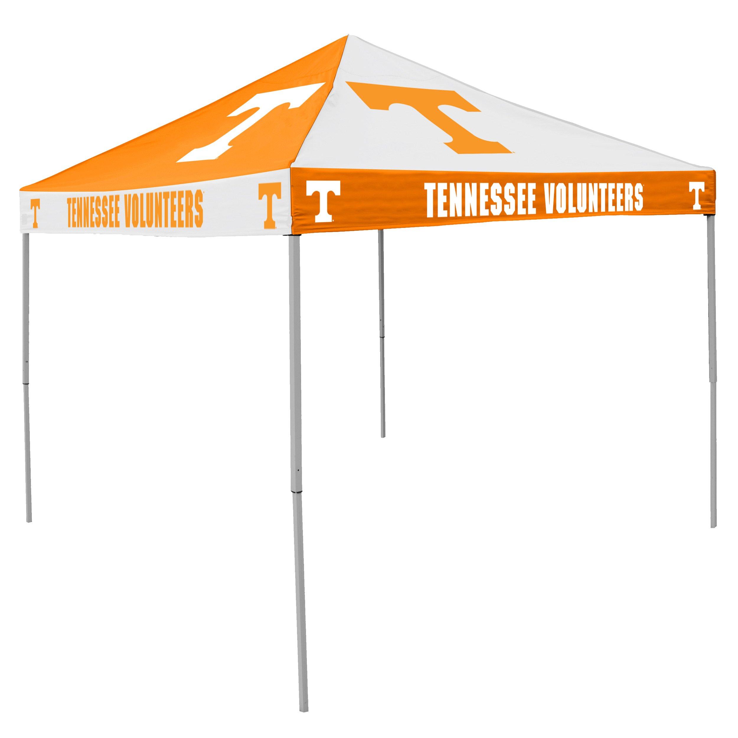 Logo Brands NCAA CB Tent, Tennessee, 9 foot X 9 foot