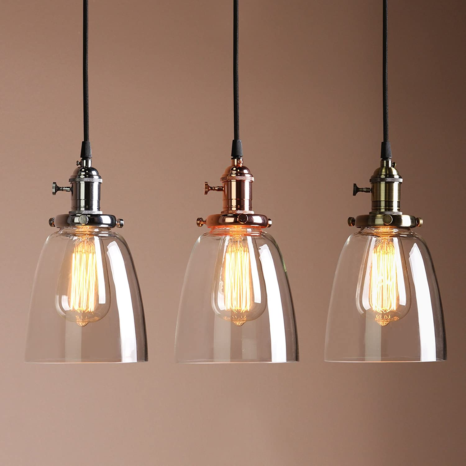 green lights pendant retro dp co amazon home industrial buyee shade kitchen metal edison uk dome fixture vintage lamp cafe ceiling