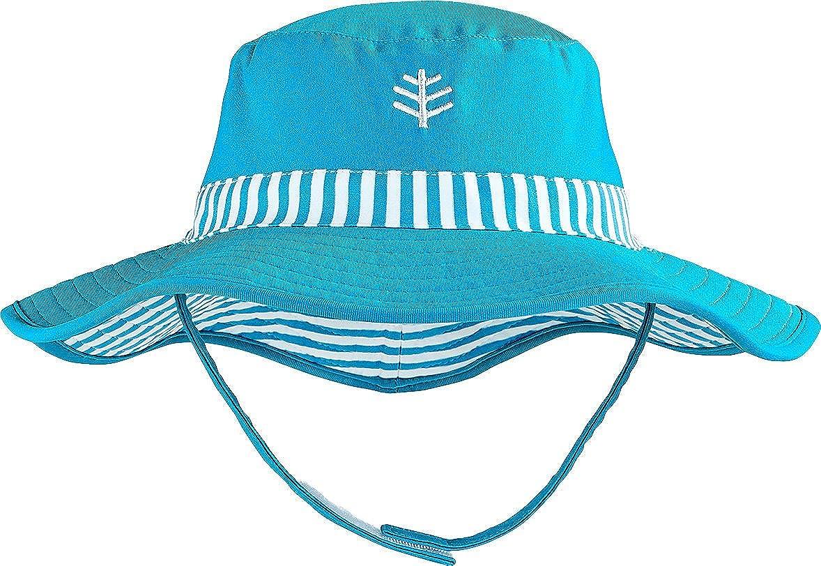 Amazon.com  Coolibar UPF 50+ Baby Girls  Reversible Beach Bucket Hat - Sun  Protective  Clothing bd798a8a3f9d