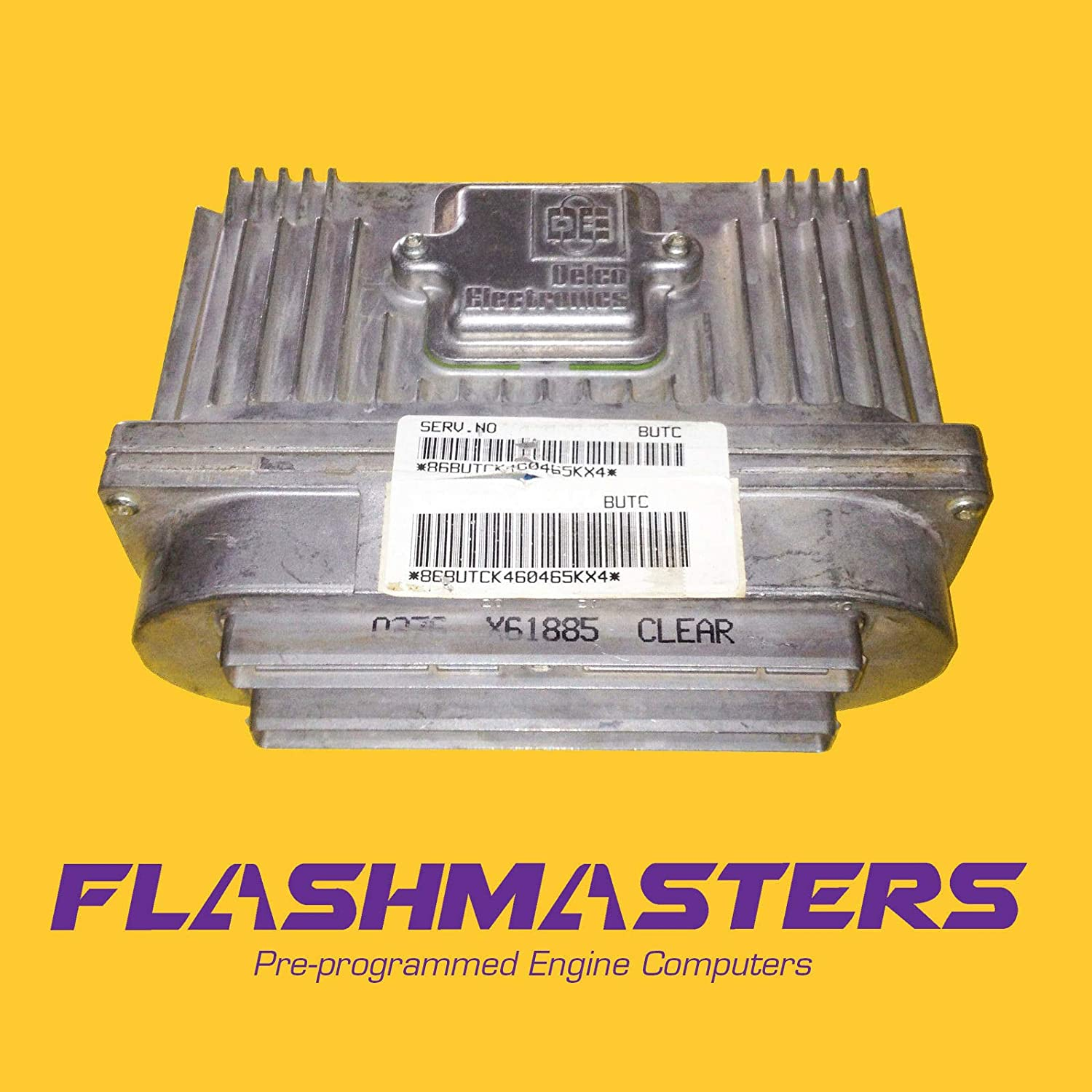 Flashmasters 1996-99 Cadillac Deville Engine Computer 16214848Programmed to Your VIN