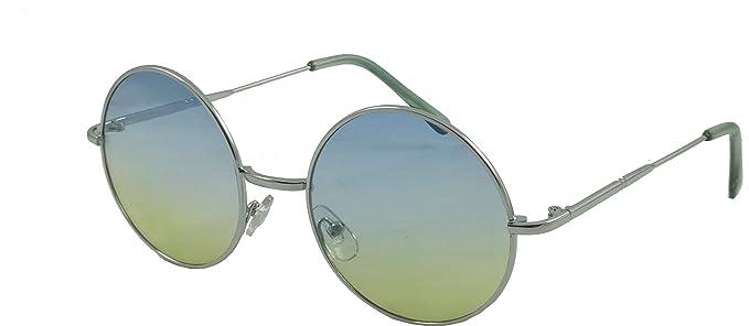 b752b03824f0d Round Eye Sunglasses 60 s  Lennon  Style.. Oceanic Colour Lenses (Silver