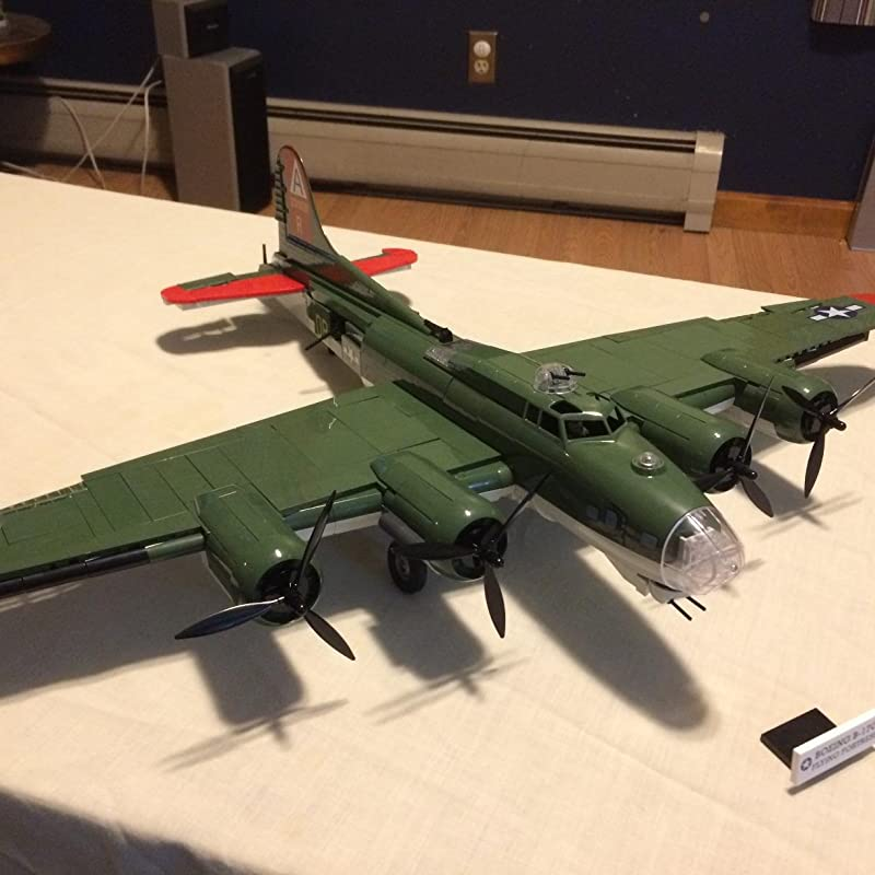 Cobi Historical历史系列 波音 B-17G 飞行堡垒轰炸机 积木模型 7.8折$74.94 海淘转运到手约¥586