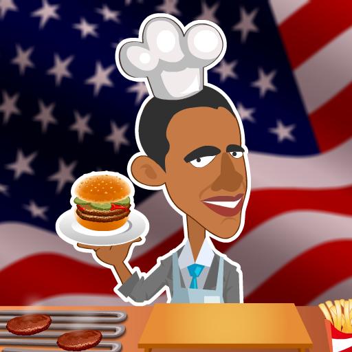 Obama Burger Stand (Obama Stand)