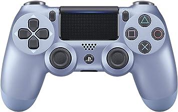 Sony - Dualshock 4 Controller Titanium Blue (PS 4): Sony: Amazon ...