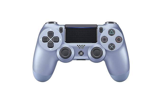 Sony - Dualshock 4 Controller Titanium Blue (PS 4 ...