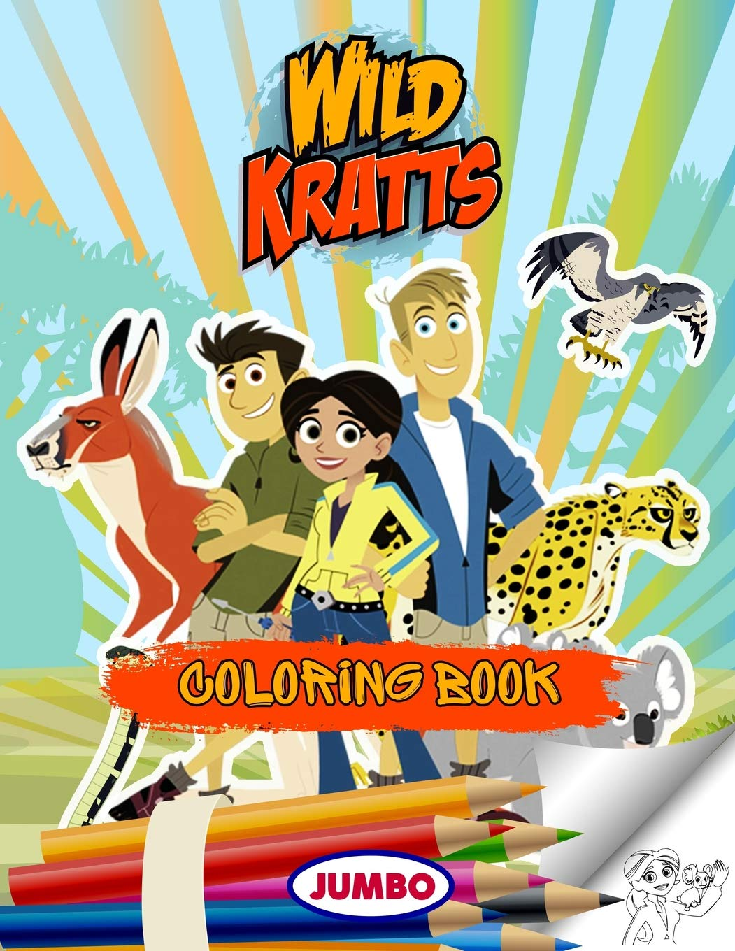 Wild Kratts Coloring Pages - Best Coloring Pages For Kids | 1360x1051