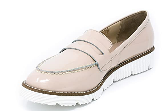 Amazon.com | BOBERCK Val Collection Womens Slip-on Loafer (6 B(M) US, Beige) | Loafers & Slip-Ons
