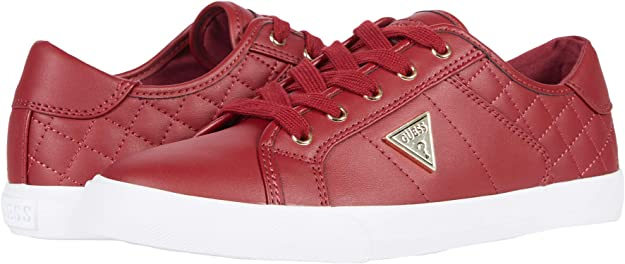 Amazon.com | GUESS Comly Bold Cherry 8.5 M | Fashion Sneakers