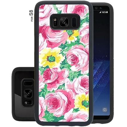Amazon.com: Carcasa para Samsung Galaxy S8 antiarañazos y ...