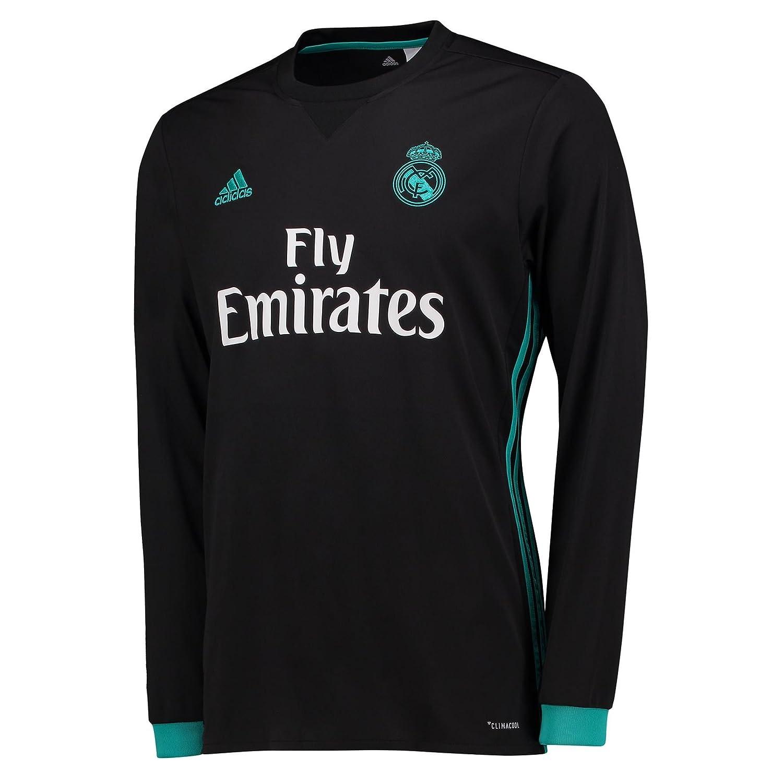 adidas a Jsy Ls Camiseta 2ª Equipación Real Madrid 2017-2018 Champions League, Hombre: Amazon.es: Deportes y aire libre
