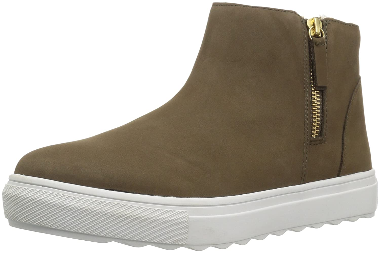 J Slides Women's Poppy Ankle Boot B074QPW833 6.5 B(M) US|Khaki