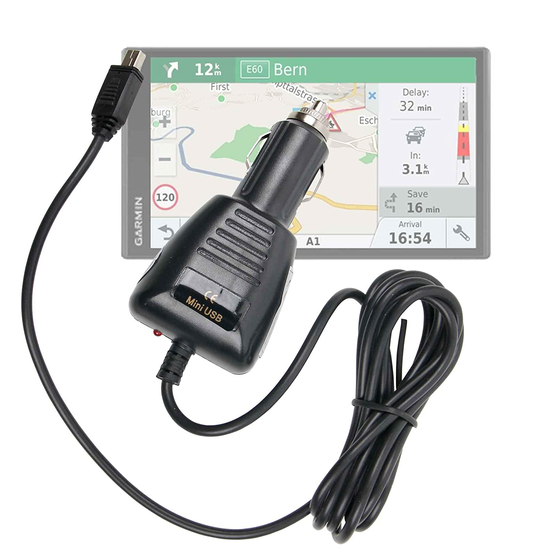 DURAGADGET Cargador Mini USB para GPS Garmin RV 770 LMT-S ...