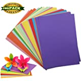 Color Copy Paper, Card Stock Handmade Folding Paper Craft Origami Card Stock Craft paper for Arts and Crafts Christmas Present, 200 Sheets