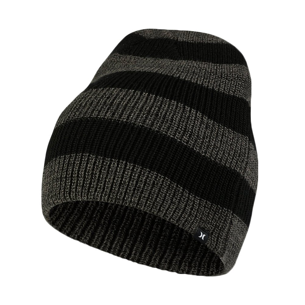 005169422da Amazon.com  Hurley - Hurley Beanie - Twin Finner - Black - One Size   Clothing