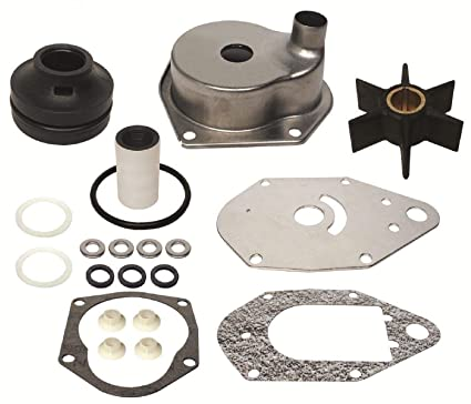 Amazon com : GLM Water Pump Kit for Mercury 3 Cylinder 40 50 55 60