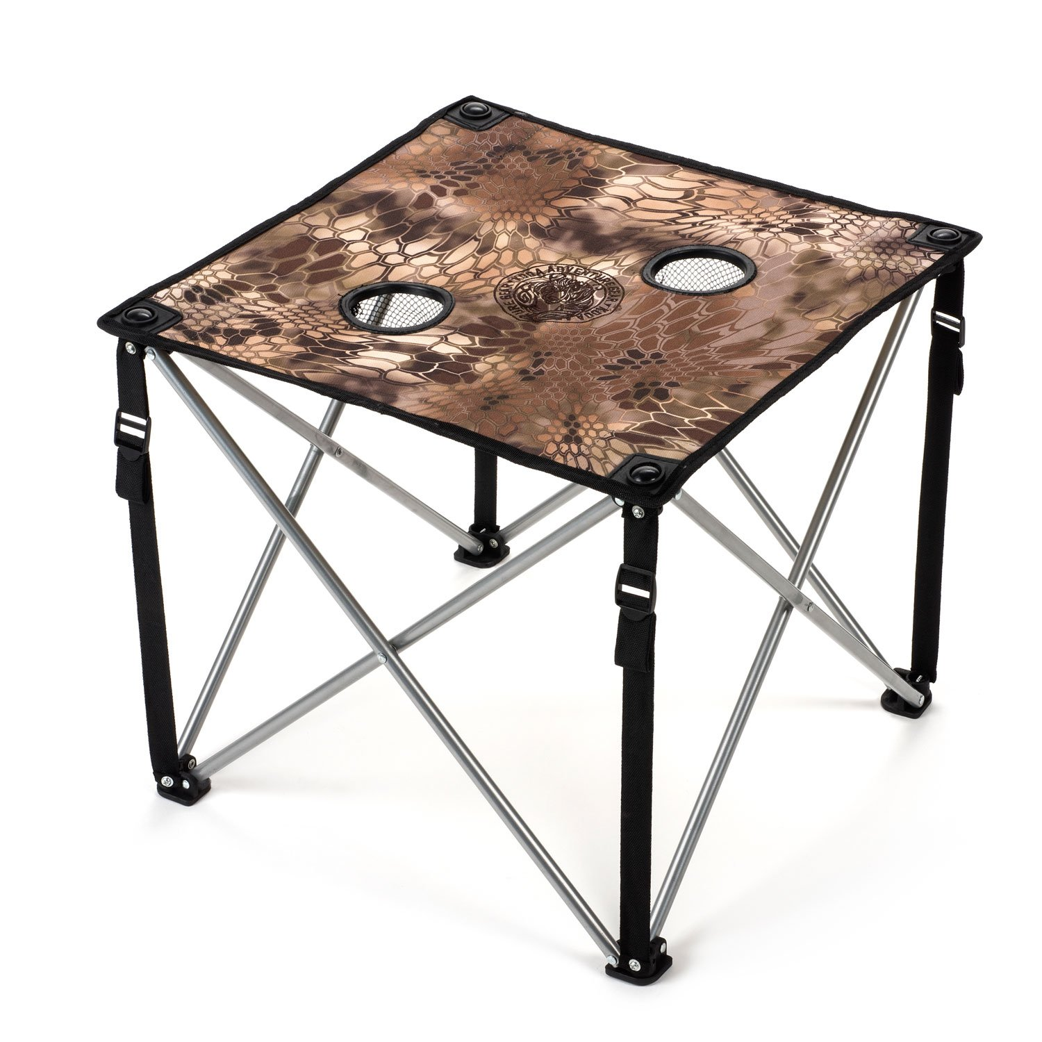 Amazon Lucky Bums Quick Camp Table with Carrying Bag Blue