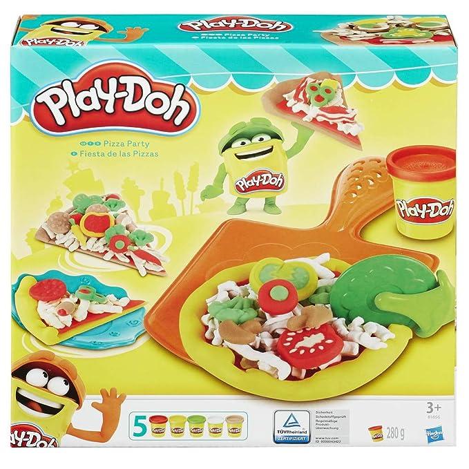 Play-Doh Pizzería, Multicolor, 23 x 22 cm (Hasbro B1856EU6 ...