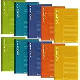 プラス ノート セミB5(6号)B罫30枚10冊入NO-003BS-10CP 5色色込 76-744