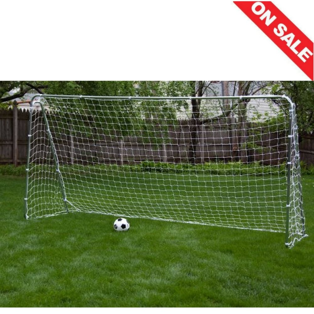 3c0ae4410 Amazon.com : Soccer Goal Posts Nets Outdoor Portable Sports Soccer Goal Net  Set Training Metal & E book By Easy2Find. : Sports & Outdoors