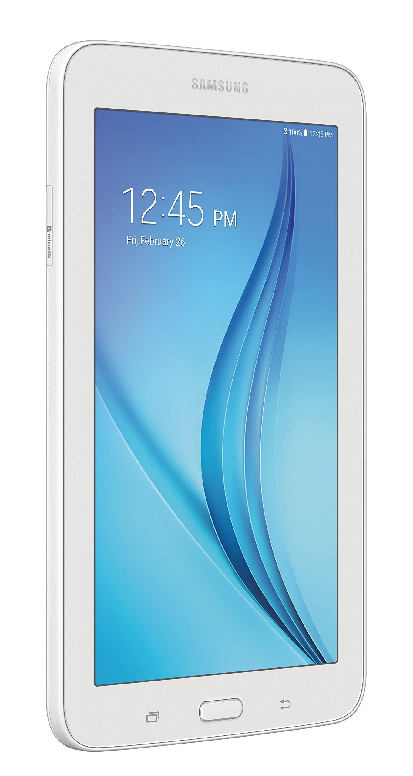 Samsung Galaxy Tab E Lite 7''; 8 GB Wifi Tablet (White) SM-T113NDWAXAR by Samsung (Image #2)