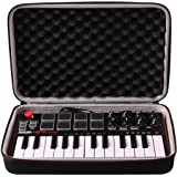 LTGEM Travel Hard Carrying Case for Akai Professional MPK Mini MKII & MK3 & MPK Mini Play | 25-Key Ultra-Portable USB…
