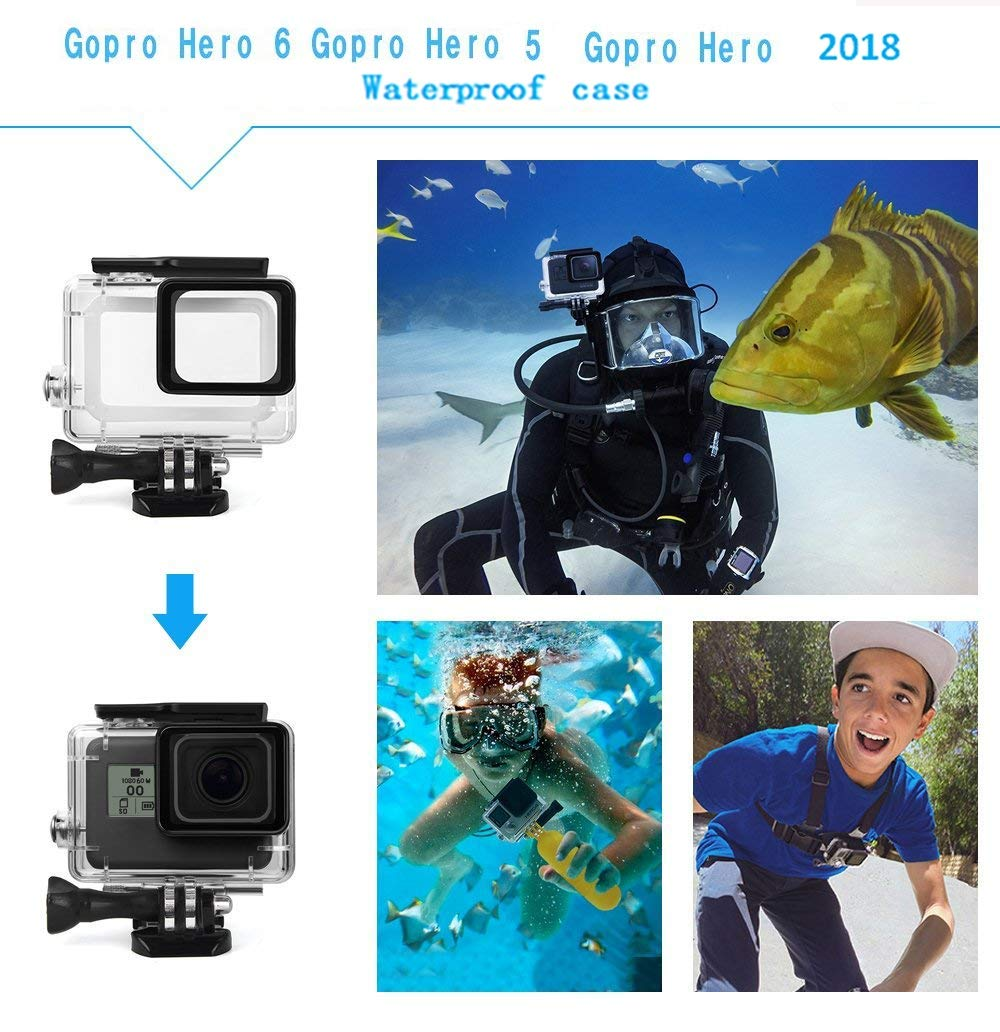 Amazon.com: Kit de accesorios Kitspeed para GoPro Hero 7/6/5 ...