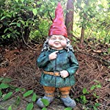Cheap HomeStyles Gnomes of Toad Hollow 21-Inch  Zelda the Female Gnome
