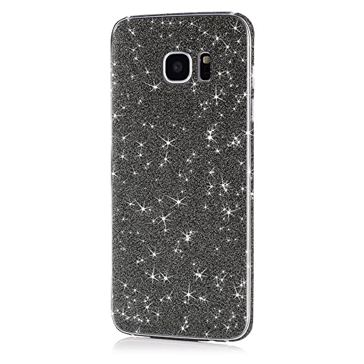 21 opinioni per Pellicola MC24® glamour skin effetto glitter per Samsung Galaxy S7 Edge in nero-