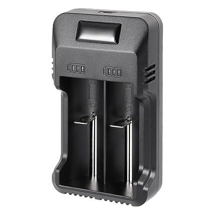Amazon.com: ZCHXD Pantalla LED de cargador de batería de ...