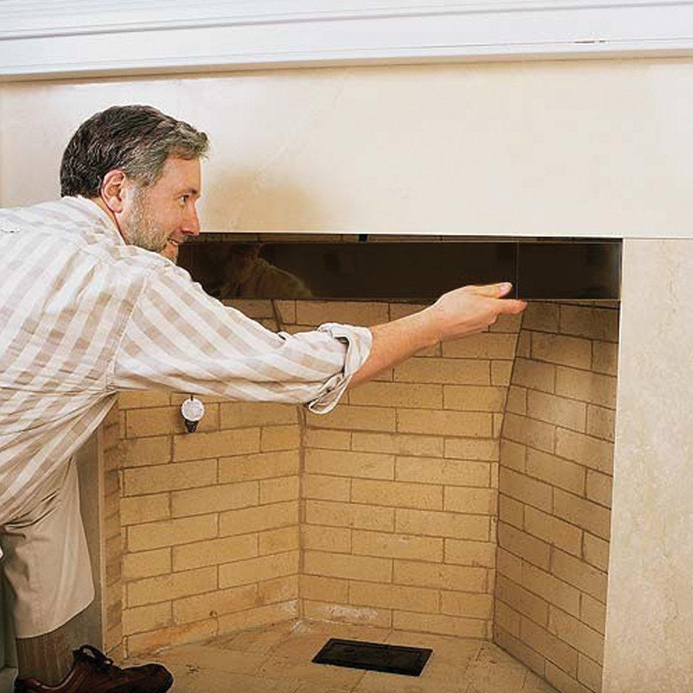 amazon com hy c fsg blk 6 fireplace smokeguard black powder coat