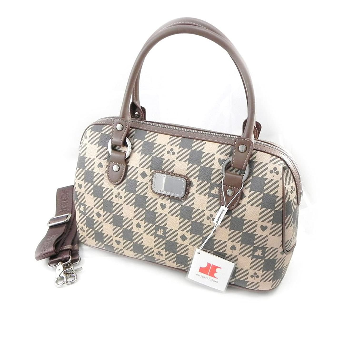 Bag 'Jacques Esterel' gray pink.