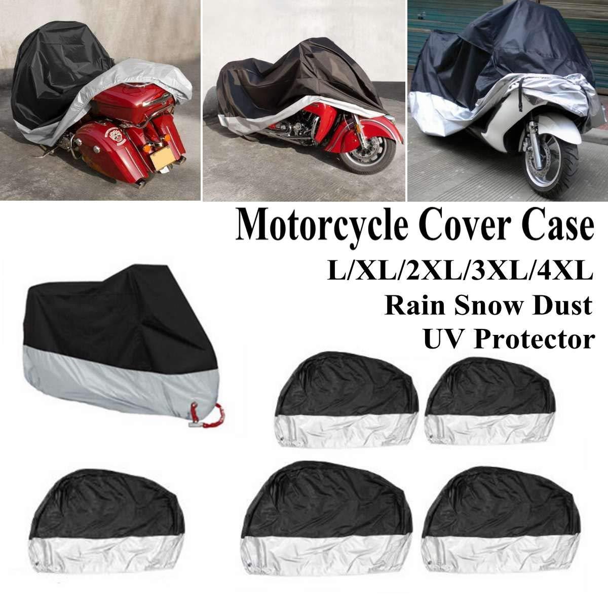 Protection contre la pluie et la poussi/ère pochette de rangement pour moto Convient pour les motos ATV B/âche de protection /étanche Couverture
