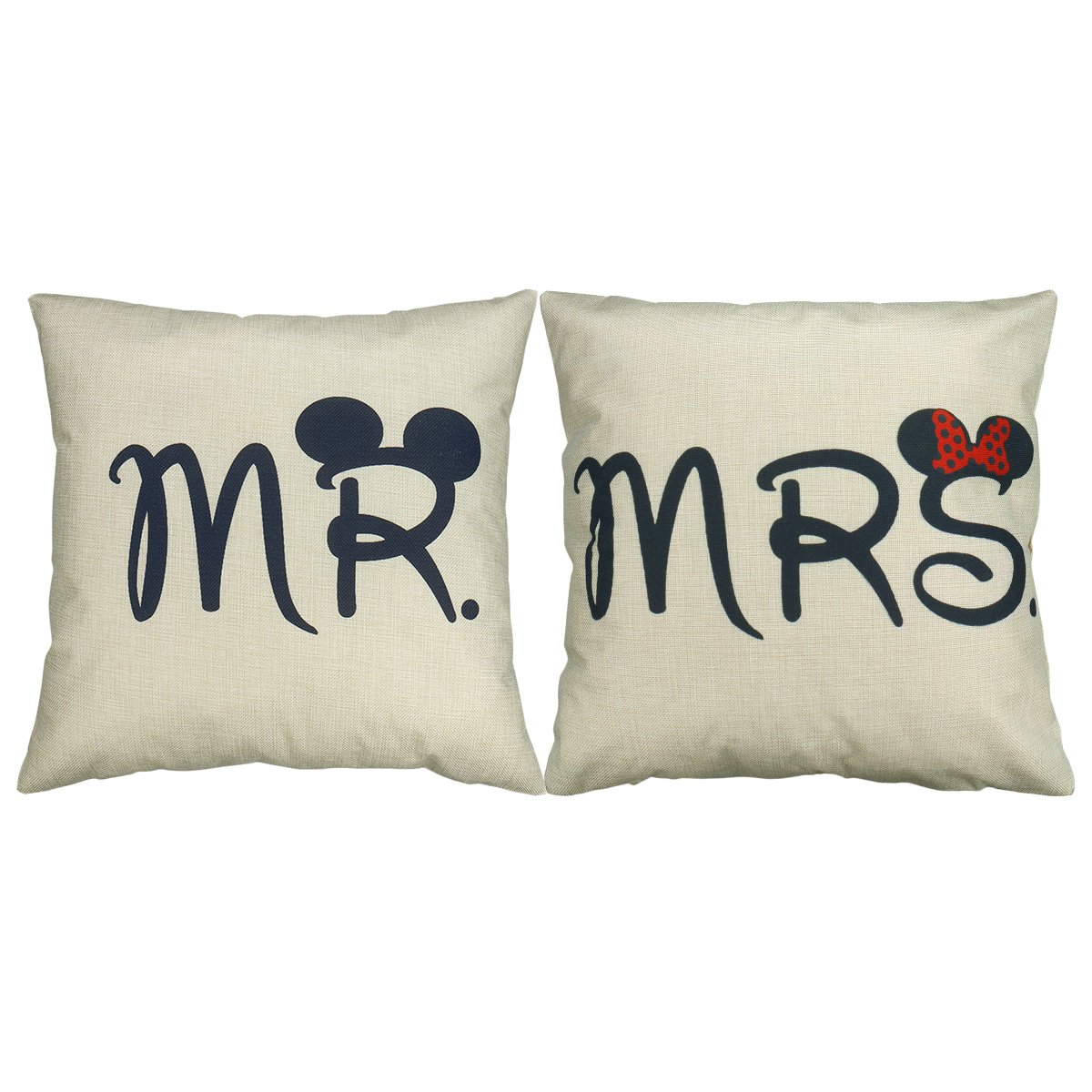 Funda Cojin (Mr & Mrs)