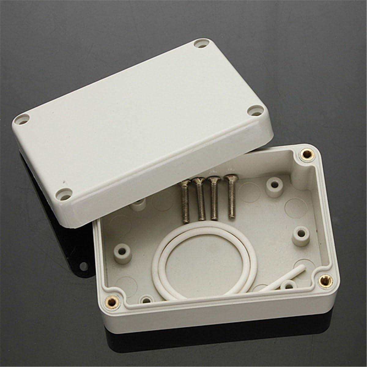 Caja de conexión impermeable IP65, carcasa de plástico, conexión DIY, casquillo, caja de derivación, Gris